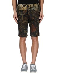 Dries Van Noten Trousers Bermuda Shorts Men Military Green