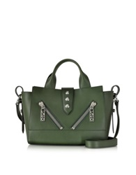 Kenzo Olive Green Leather Mini Kalifornia Handbag