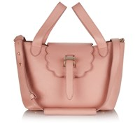 Meli Melo Women's Thela Mini Scalloped Tote Bag Orchid