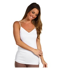 Hanro Cotton Seamless V Neck Camisole White Women's Underwear