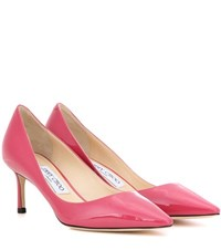 Jimmy Choo Romy 60 Patent Leather Pumps Pink