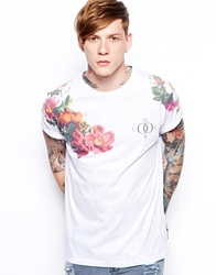The Cuckoo's Nest The Cuckoos Nest T Shirt With Floral Print White