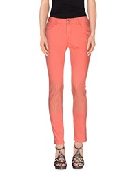 Guess By Marciano Denim Denim Trousers Women Coral