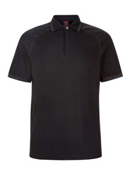 Victorinox Nomad Stretch Pique Polo Black