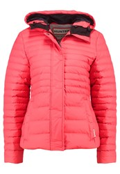 Hunter Down Jacket Bright Coral Red