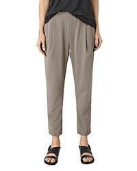 Allsaints Azalea Relaxed Fit Pants Khaki Green