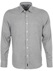 Marc O'polo Long Sleeved Shirt In A Regular Fit Grey