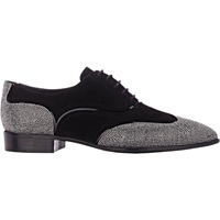Studded Wingtip Oxfords Nero