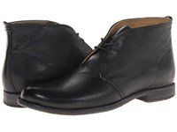Frye Phillip Chukka Black Soft Vintage Leather Men's Lace Up Boots