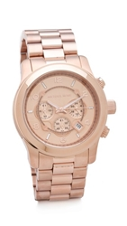 Michael Kors Oversized Watch Rose Gold