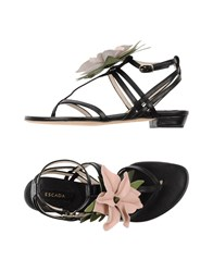 Escada Footwear Sandals Women Black