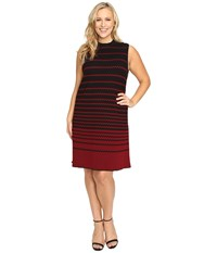 Nic Zoe Plus Size Fall Fever Dress Multi Women's Dress