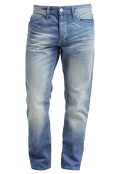 Jack And Jones Jack And Jones Jjormike Original Relaxed Fit Jeans Blue Denim Light Blue