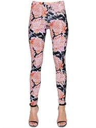 Just Cavalli Floral Printed Lycra Leggings