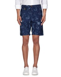 Oliver Spencer Trousers Bermuda Shorts Men Dark Blue