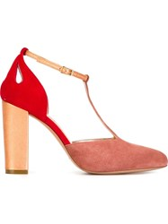 Jean Michel Cazabat 'Kate' Pumps Pink And Purple