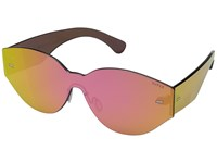 Super Drew Mama Tuttolente Pink Mirror Fashion Sunglasses