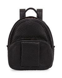 Dumbo Leather Backpack Black Rose Gold Alexander Wang