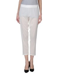 Ann Demeulemeester Trousers Casual Trousers Women Ivory