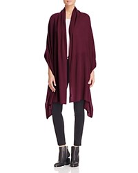 Bloomingdale's C By Cashmere Travel Wrap Cabernet