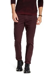 J Brand Perfect Chino Trouser Red