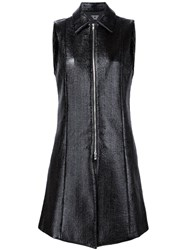 Creatures Of The Wind Long Zipped Waistcoat Black