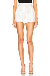 L'agence Edie Shorts In Neutrals