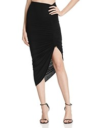 Bailey 44 Zanibar Ruched Toggle Skirt Black