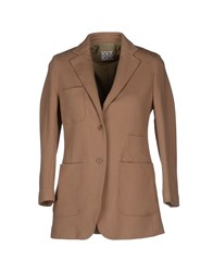 Douuod Suits And Jackets Blazers Women Light Brown