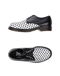 Da.D Lace Up Shoes White