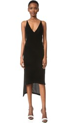Dion Lee Fine Line Cami Dress Black