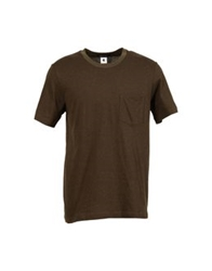 Adam Kimmel Short Sleeve T Shirts Khaki