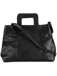 Marsell Structured Tote Black