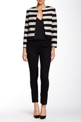 Alice Olivia Kate Pleated Front Trouser Black