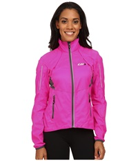 Louis Garneau Cabriolet Jacket Pink Glow Women's Workout