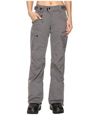 686 Authentic Smarty Cargo Pant Steel Women's Outerwear Silver