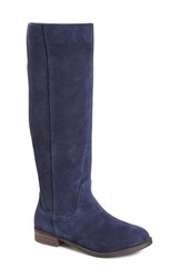 Women's Sole Society 'Kellini' Suede Knee High Boot Ink Navy Suede