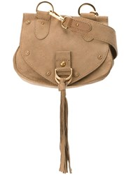 See By Chloe Small 'Collins' Crossbody Bag Nude And Neutrals