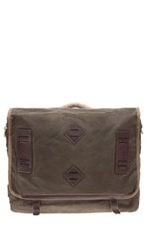 Men's Will Leather Goods 'Mt. Hood' Messenger Bag Green Olive