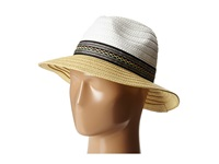 Bcbgeneration Ribbon Panama White Traditional Hats