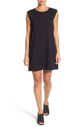 Eileen Fisher Women's Stretch Organic Cotton Jersey Shift Dress