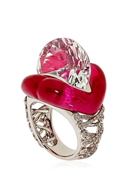Lydia Courteille Erotic Ring Red Corundum