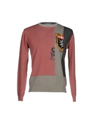 Szen Knitwear Jumpers Men Pastel Pink