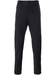 Ymc Tapered Trousers Blue