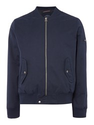 Criminal Brandon Bomber Jacket Navy