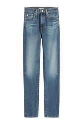 Alexa Chung For Ag Sabine Straight Leg Jeans Blue