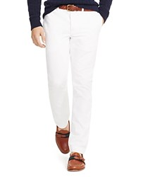Polo Ralph Lauren Straight Fit Chino Pants White