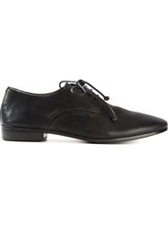 Marsell Lace Up Brogues Black
