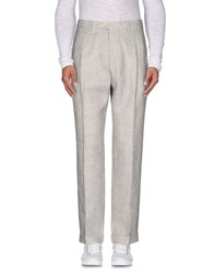 Tombolini Trousers Casual Trousers Men Grey