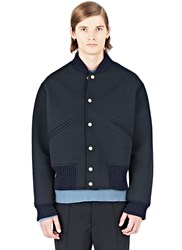 Marni Structured Bomber Jacket Black